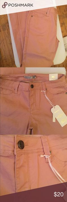 Fun blush colored skinny jeans These perfect jeans are the perfect shade of blush  to go to any summer party or for the casual day at work, they are skinny fit Jeans Skinny