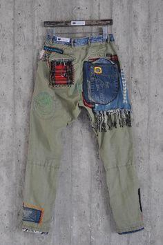 Jeans Azul, Blue Jeans, Blue Denim, Levis Jeans, Patched Jeans, Boyfriend Jeans, Levis Vintage, Redone Jeans, Jean Large