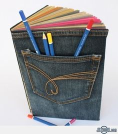 Recycled Jeans Book