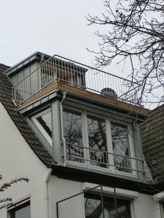 Flat roof dormers :: Prefabricated dormers with system - SPS dormers