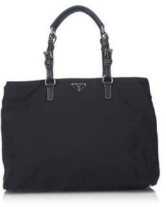 Prada Pre-owned: Nylon Tote Bag.