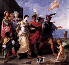 Guido Reni, The Rape of Helen, 1631