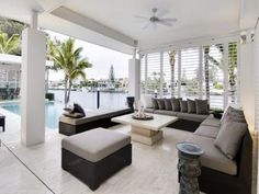 Decorating a lanai in florida your decorated for Lanai flooring options