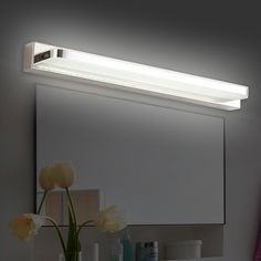 Leds Remain A Classic And Common Approach For Modern Bathroom Lighting  Fixtures Over Mirror