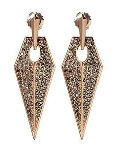 REBECCA MINKOFF Blades Statement Earring | Piperlime