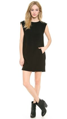 Love this with the booties! Rag & Bone Nevis Dress