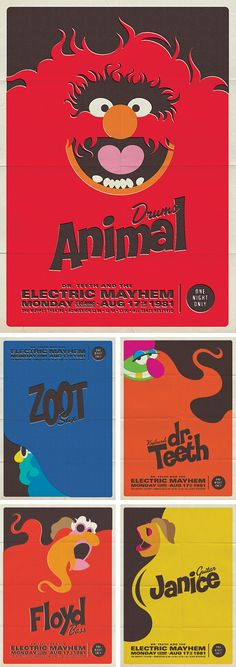 Dr. Teeth and the Electric Mayhem Posters   Analogue Blog   News   Design   Photography   Illustrations   Web Sites   & Cool Stuff