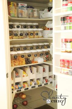 pantry ideas. Love this!