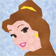 Belle paper piecing