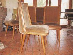 1 silla (4 disponibles) vintage retro escandinavas americana