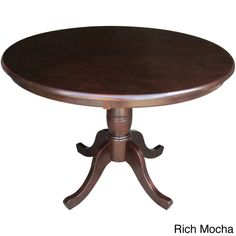 ronan pedestal extension table - pier 1 $349.99 -- comes in brown, Esstisch ideennn