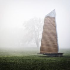 Fascinating Sails Park Benches in Canada by Les Ateliers Guyon
