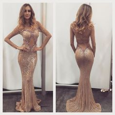 How sexy is this dress from @charbelzoecouture , Love, love, love!