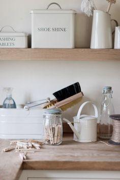 Tvätt & städ | Håll ordning och reda i tvättstugan | Matilde & Co