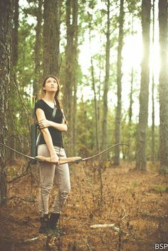 Hunger games, katniss, gale, catching fire, bow and arrow, brandon scott photography, modeling, thinking, mockingjay, boots, combat boots, khaki