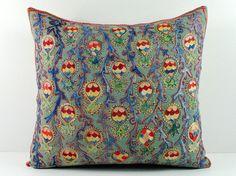Uzbek suzani t https://www.etsy.com/listing/179963556/vintage-hand-embroidered-uzbek-suzani