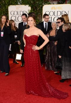 See Every Red Carpet Look from the Golden Globes: Jennifer Garner in Vivienne Westwood