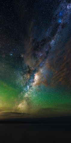 ~~Rise | dramatic astrophotography, Lake Ellesmere, New Zealand night skies lit by the Milky Way | by Paul Wilson~~