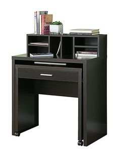 Hollow-Core Spacesaver Desk with Open Storage by Monarch Specialties at Gilt