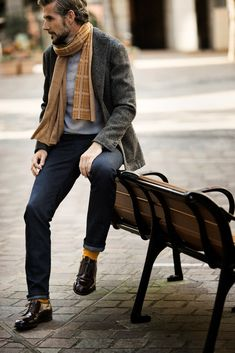Cold day outfits inspiration. Follow Elevator Shoes Pinterest : GuidoMaggi Shoes Pinterest