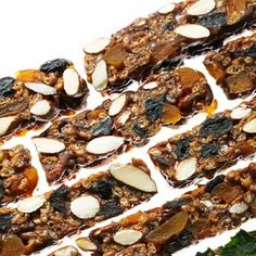 Tasty No Bake Nut and fruit Bar
