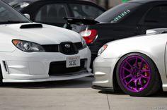 purple rims