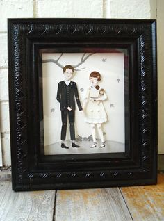 Frame Paper dolls