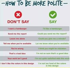 """Learning English: """"How to be more polite"""""""