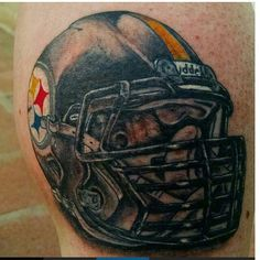 IT'S #TATTOOTUESDAY! S/O @guerolocc for reppin them #Steelers with #ink! #HereWeGo #BBSG #StillerGang #nfl #afcchampionship #nflplayoffs