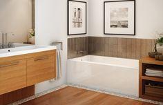 Rubix 6030 Alcove bathtub - MAAX Professional