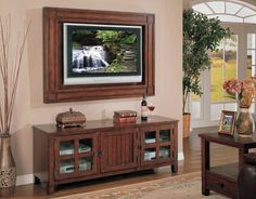 TV Frame. Could easily diy.