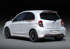 Nissan представил Micra Nismo Concept на Tokyo Auto Salon 2012