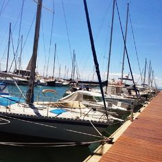 What do you think of these beautiful boats? In Roses you can rent one and take it for a ride! #VisitRoses #inCostaBrava #luxury #holiday #fishing #boat