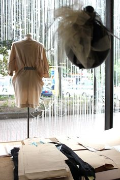 Collection presentation at Pauma Immich Berlin  http://www.virginiepeny.com/visite-privee-chez-paula-immich/