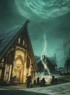 Skyrim. Dragonborn - Aldea Skaal