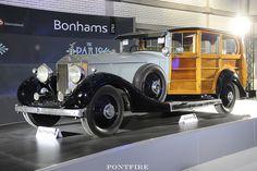 1928 Rolls-Royce phantom I shooting-break Planes, Shooting Brake, Limousine, Rolls Royce, Real Wood, Antique Cars, British, Trucks, Autos