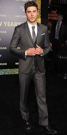 Love The Suit that Zac Effron Wear to do Christian Grey !