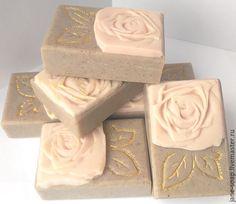 Мыло с нуля глиняное «Рассул» , ХС. - мыло с нуля, мыло натуральное с нуля
