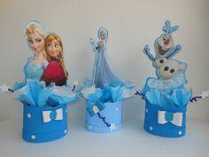 Frozen Figuras, Centros De Mesa Para Decoracion De Fiestas - BsF 140,00