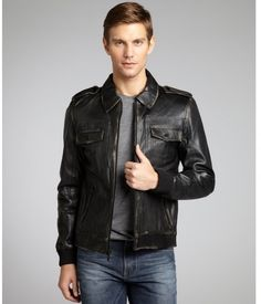 kenneth-cole-black-black-distressed-leather-motorcycle-jacket