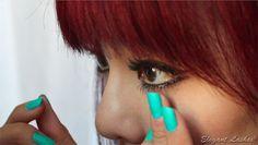 how to apply bottom under lower false fake eyelashes, elegant lashes, bottom false eyelashes, lower false eyelashes, false fake eyelashes for bottom