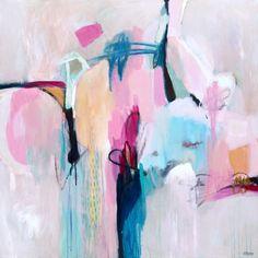 new contemporary abstract paintings by Sarina Diakos
