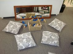 Reggio Inspired Play Based Learning For baby gym activities Classroom Environment, Classroom Setup, Classroom Design, Play Based Learning, Learning Centers, Early Learning, Reggio Emilia Classroom, Reggio Inspired Classrooms, Play Spaces