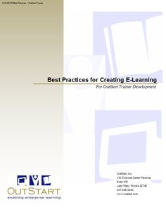 Best Practices for Creating #eLearning