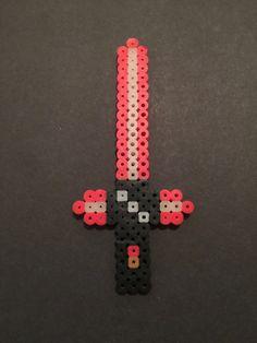 Kylo Ren's Lightsaber - Star Wars VII perler beads by CatsandConsoles