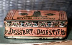 Vintage Packaging for French Digestives