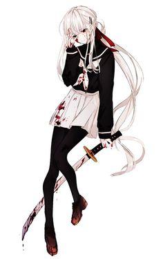 Pixiv Id 15385092 Image - Zerochan Anime Image Board Manga Girl, Anime Girl Neko, Cool Anime Girl, Anime Child, Girls Anime, Beautiful Anime Girl, Anime Art Girl, Manga Anime, Dark Anime