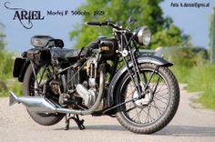 1929 Ariel Model F 500ohv