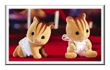 Calico Critters Furbanks Squirrel Twins (CC1593)