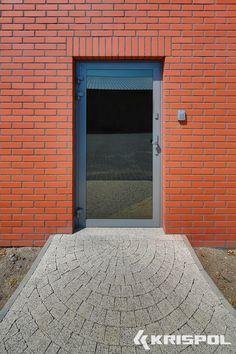 Drzwi wejściowe, stolarka aluminiowa